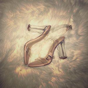 Shoes - Clear sandals